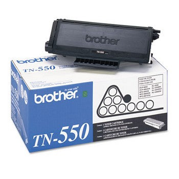 Brother TN-550 Black, Standard Yield Toner Cartridge