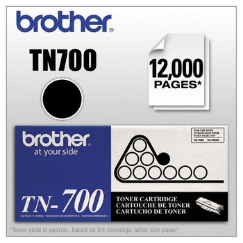 Brother TN-700 Black, High Yield Toner Cartridge