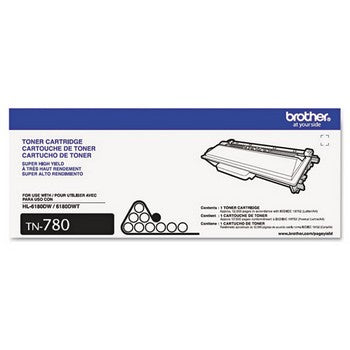 Brother TN780 Black, Super High-Yield Toner Cartridge