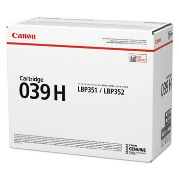 OEM/Genuine Canon 039H (Canon 0288C001AA) Ink Cartridge, Black
