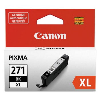 Canon CLI-271XL Black, High-Yield Ink Cartridge, Canon 0336C001