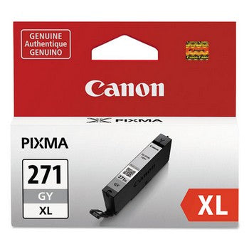 Canon CLI-271XL Gray, High-Yield Ink Cartridge, Canon 0340C001