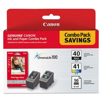 Canon PG-40 / CL-41 Combo Pack Ink Cartridge, Canon 0615B009