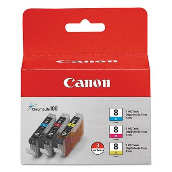 Canon CLI-8 Color, Multi Pack Ink Cartridge, Canon 0621B016