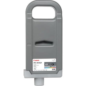 Canon PFI-701GY Pigmented Gray Ink Cartridge, Canon 0909B001