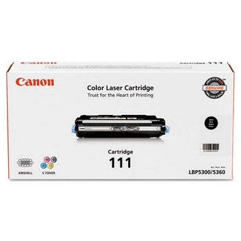 OEM/Genuine Canon 111 (Canon 1660B001) Toner Cartridge, Black