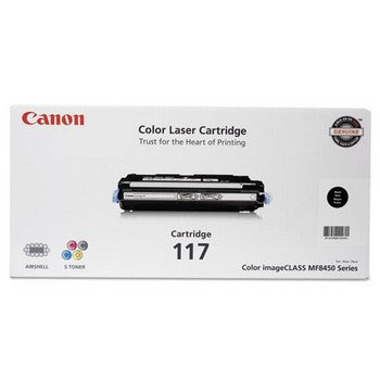 OEM/Genuine Canon 117 (Canon 2578B001) Toner Cartridge - Black