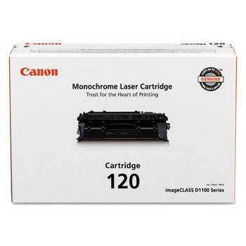 Genuine/Original Canon 120 (Canon 2617B001) Toner Cartridge - Black