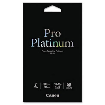 Original/Genuine Canon 2768B014AA Photo Paper - 50 Sheets/Pack, White