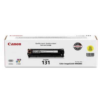 Canon CRG-131 Yellow, Standard Yield Toner Cartridge, Canon 6269B001