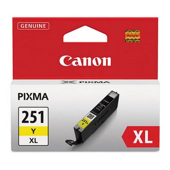 Canon CLI-251XL Yellow, High Yield Ink Cartridge, Canon 6451B001