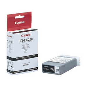 Canon BCI-1302BK Black Ink Tank, Canon 7717A001