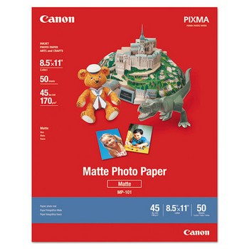 Canon 8.5x11 Matte Photo Paper