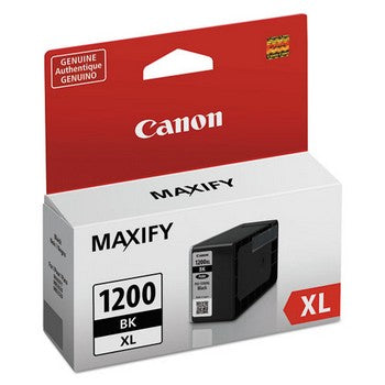 Canon PGI-1200XL Black, High Yield Ink Cartridge, Canon 9183B001