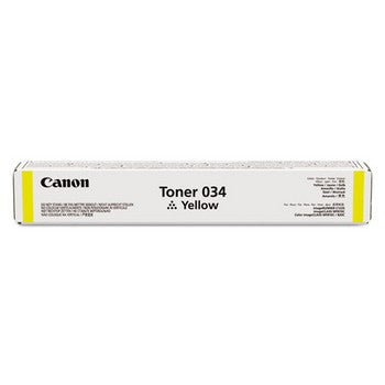 Canon 34 Yellow, Standard Yield Toner Cartridge, Canon 9451B001