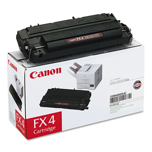 Genuine/Original Canon FX-4 Toner Cartridge - Black | Databazaar