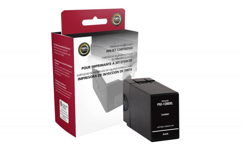 CIG Non-OEM New High Yield Black Ink Cartridge for Canon PGI-1200XL