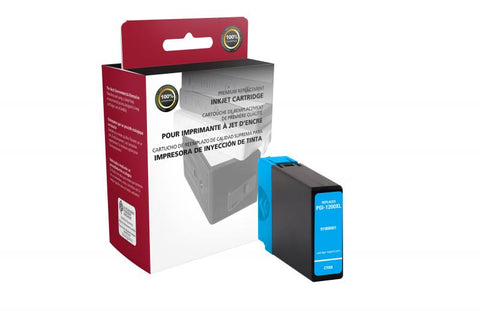 CIG Non-OEM New High Yield Cyan Ink Cartridge for Canon PGI-1200XL