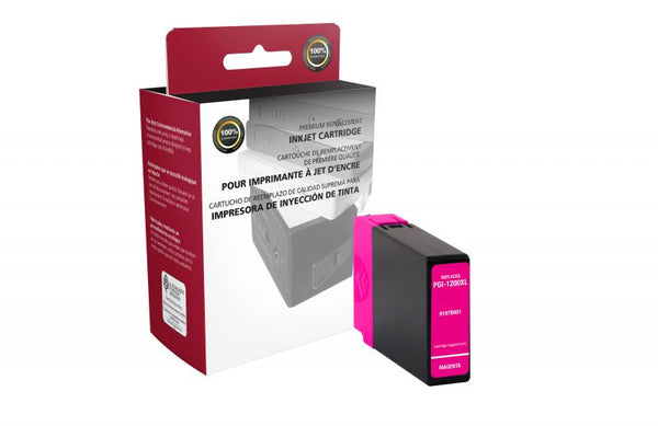CIG Non-OEM New High Yield Magenta Ink Cartridge for Canon PGI-1200XL