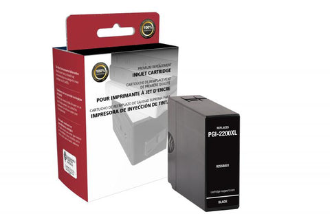 CIG Non-OEM New High Yield Black Ink Cartridge for Canon PGI-2200XL