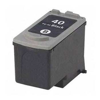 Generic Brand (Canon PG-40 ) Remanufactured Black, Standard Yield Ink Cartridge, Generic 0615B002