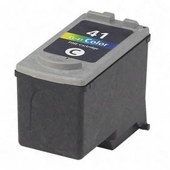 Generic Brand (Canon CL-41) Remanufactured Tri-Color, Standard Yield Ink Cartridge, Generic 0617B002