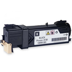 Compatible Xerox 106R01281 Black Toner Cartridge