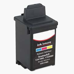 Compatible Lexmark 80 Color (Made In USA) Ink Cartridge, Lexmark 12A1980U