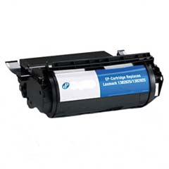Compatible/Remanufactured Lexmark 1382925 Toner Cartridge, Black