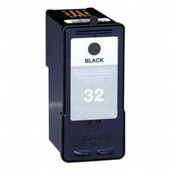 Compatible Lexmark 32 Black Ink Cartridge, Lexmark 18C0032