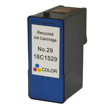 Generic Brand (Lexmark 29) Remanufactured Tri-Color, Standard Yield Ink Cartridge, Generic 18C1529