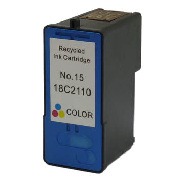 Generic Brand (Lexmark 15A) Remanufactured Color, Standard Yield Ink Cartridge, Generic 18C2100