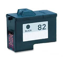 Compatible Lexmark 82 Black (Made In USA) Ink Cartridge, Lexmark 18L0032U