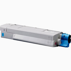Compatible Okidata 43324403 Cyan, High Capacity Toner Cartridge