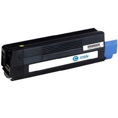 Compatible Okidata 43324419 Cyan Toner Cartridge