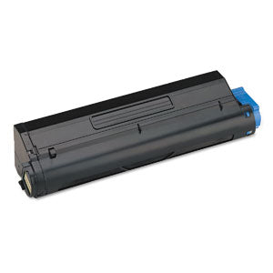 Compatible Okidata 43502001 Black, High Yield Toner Cartridge