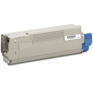 Compatible Okidata 43865719 Cyan, High Yield Toner Cartridge