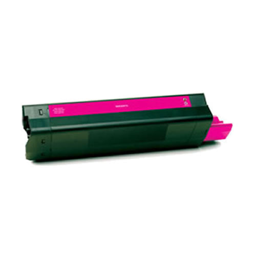 Compatible Okidata 5100M Magenta, Standard Yield Toner Cartridge