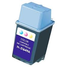 Generic Brand (HP 49) Remanufactured Color (Made In USA) Ink Cartridge