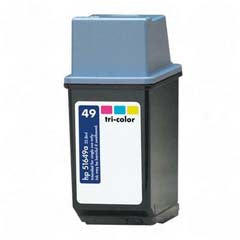 Generic Brand (HP 49) Remanufactured Color, High Capacity Ink Cartridge