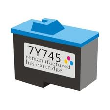 Compatible Dell 7Y745U Color (Made In USA) Ink Cartridge