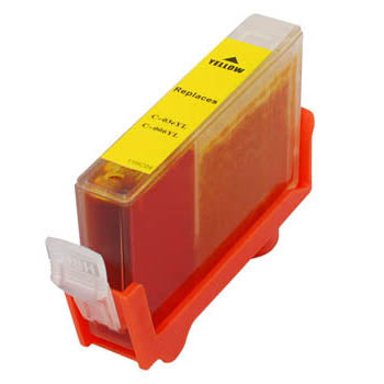 Generic Brand (Canon BCI-3EY) Remanufactured Yellow, Standard Yield Ink Cartridge, Generic BCI3EY