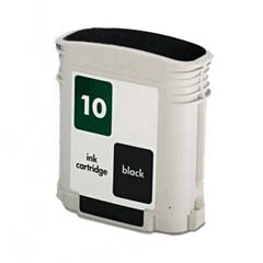 Generic Brand (HP 10) Remanufactured Black Ink Cartridge