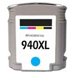 Generic Brand (HP 940XL) Remanufactured Cyan Ink Cartridge