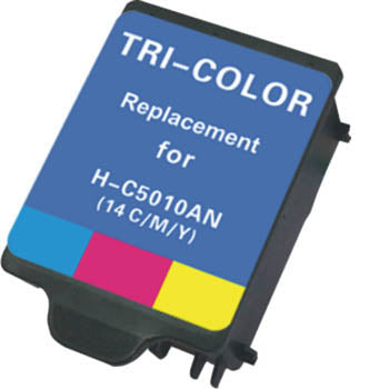 Generic Brand (HP 14) Remanufactured Black, Standard Yield Ink Cartridge, Generic C5011A