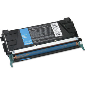 Compatible/Remanufactured Lexmark C5222CS Toner Cartridge - Cyan