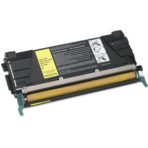 Compatible/Remanufactured Lexmark C5222YS Toner Cartridge - Yellow