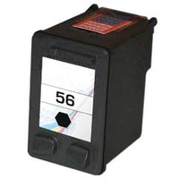 Remanufactured HP 56 (HP C6656AN) Ink Cartridge - Black