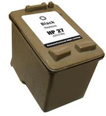 Generic Brand (HP 27) Remanufactured Black (Made In USA) Ink Cartridge