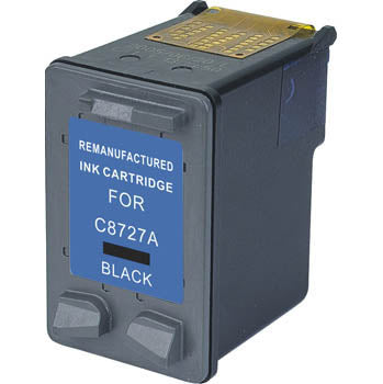 Remanufactured/Generic HP 27 Ink Cartridge - Black | Databazaar.com